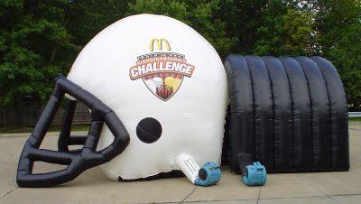 football team tunnel