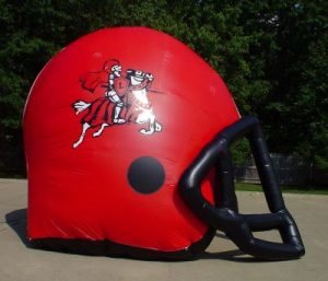 football helmet inflatable