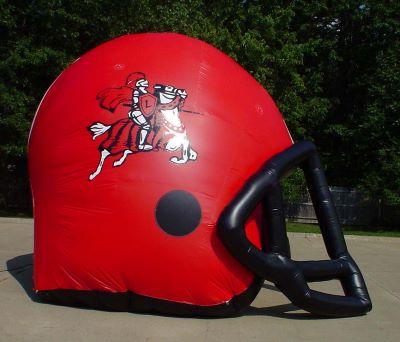 football helmet inflatable
