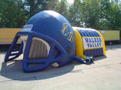 Walker valley helmet tunnel