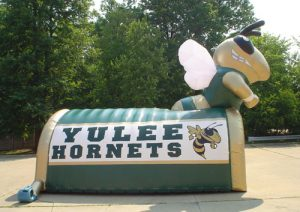 hornet yellow jacket mascot