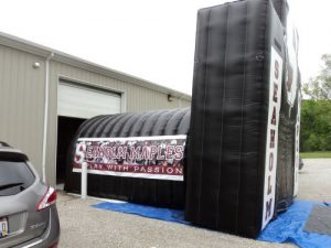 inflatable arch tunnel