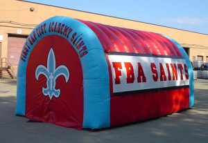 all sport inflatable tunnel