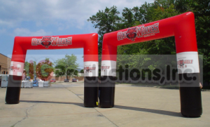 race arch inflatable