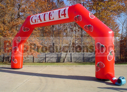 inflatable race arch